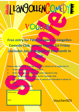 Comedy Club Voucher